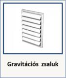 gravitációs zsalu