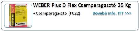 weber-Plus D flex-kép